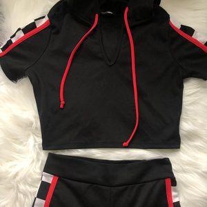 Fashion nova matching pant set, never worn
